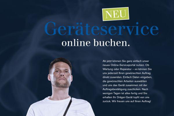 Der Dräger Online-Geräteservice ist da!