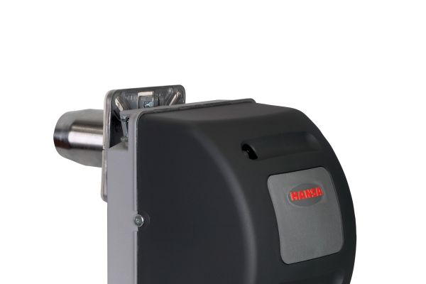 """Die Marktbekanntheit von Hansa Heiztechnik basiert auf einem soliden Ölbrenner-Sortiment und robusten """"Gelbbrennern"""", wie dem """"HVS 5.3""""."""
