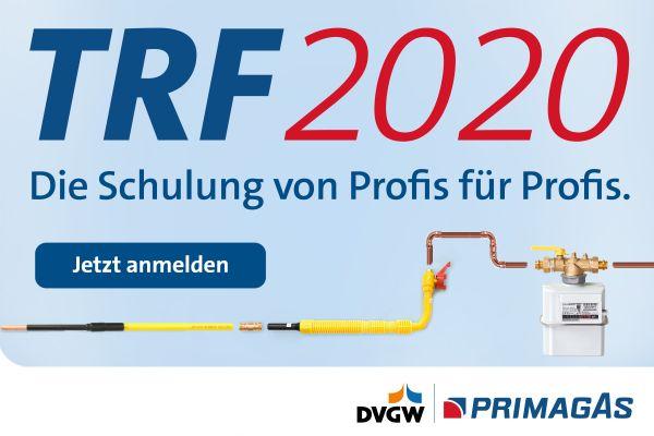 Werbung für Primagas-Schulungen zu den neuen Technischen Regeln Flüssiggas.