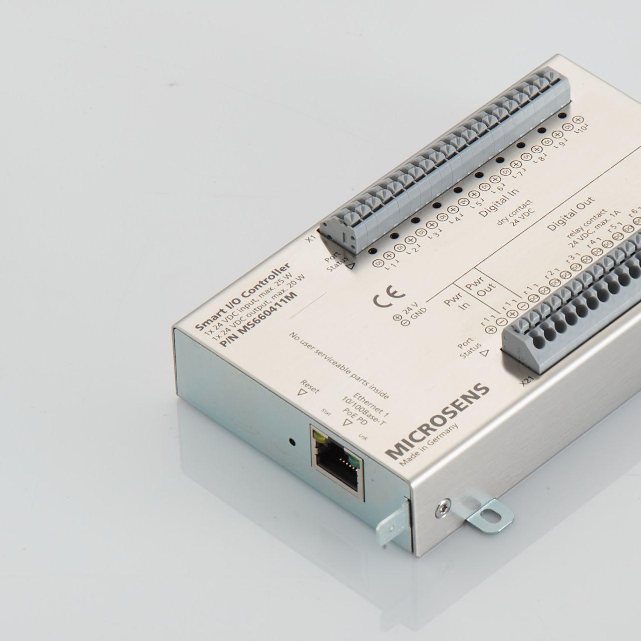 Microsens: Neuer Smart I/O Controller