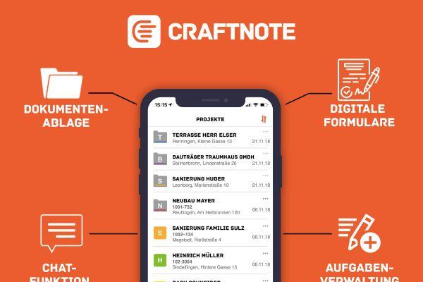 fischer und GC-Gruppe entwickeln Craftnote-App weiter