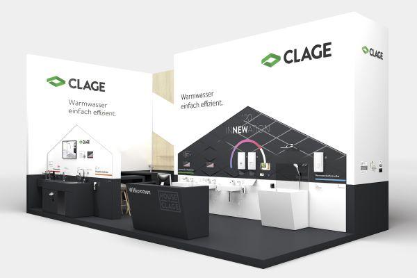 Neue Armaturen und E-Durchlauferhitzer von CLAGE