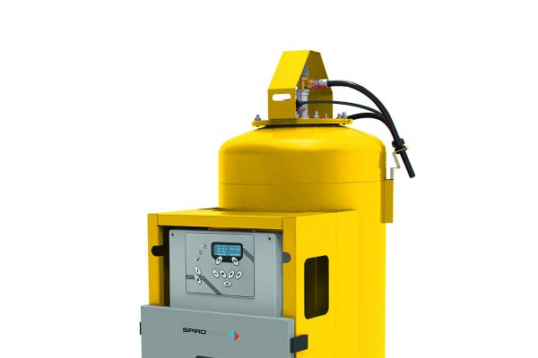 """Der kompakte Druckhalteautomat """"SpiroPress Picocontrol"""" für den kleineren und mittleren Leistungsbereich mit Expansionsgefäßen zwischen 45 und 500 Litern."""