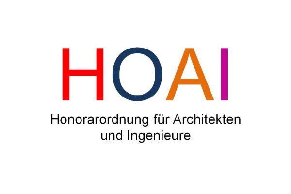 Das Bild zeigt das HOAI-Logo.