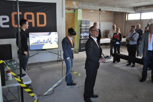 Palette CAD feiert Markteinführung von Virtual Reality-Software