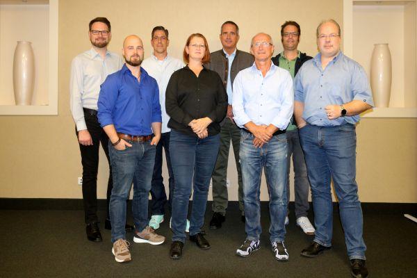 Das Bild zeigt die Gründungsmitglieder.