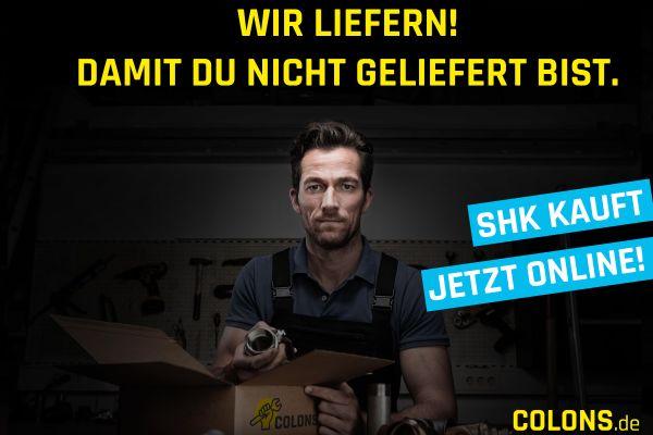 Uneingeschränkter Einkauf bei COLONS.de
