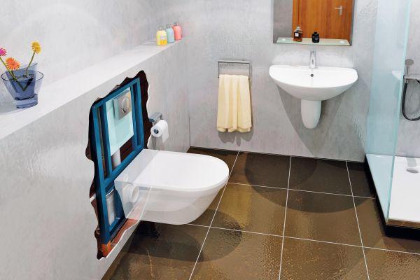 Intelligente Lösungen für das kleine Bad: