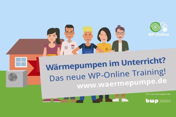 Neues Wärmepumpen Online-Training: E-Learning und E-Teaching für die Helden der Energiewende