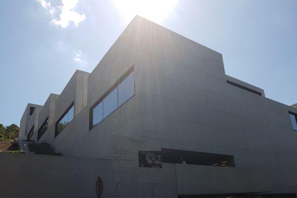 Außenansicht der John-Cranko-Ballettschule in Stuttgart.