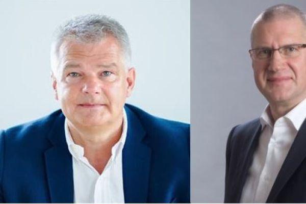 Das Bild zeigt Joachim Stücke (links) und Mario Mathews.