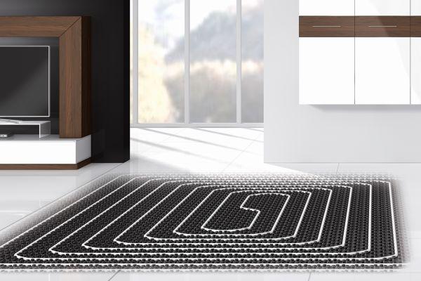 Neuer Cosmo-Verlegeservice für Fußbodenheizungen