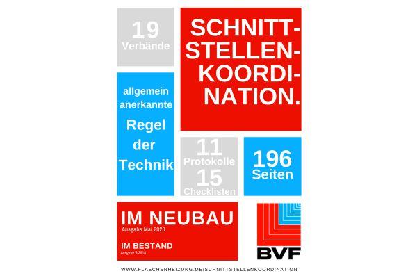 """BVF veröffentlicht """"Schnittstellenkoordination - Neubau 2020"""""""