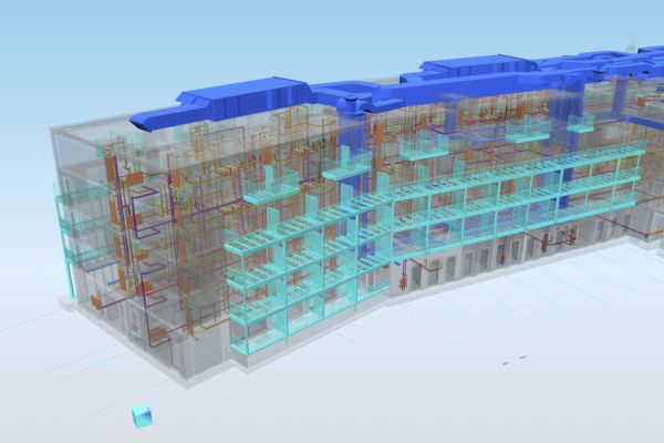 IFC-Gesamtprojekt des Hotels.