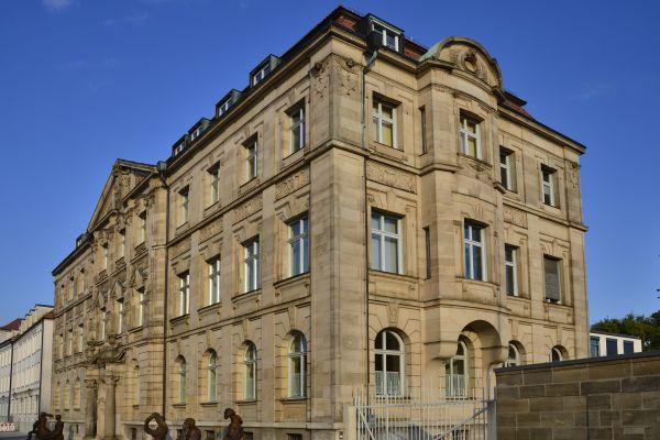 Das Land- und Amtsgericht in Ansbach.