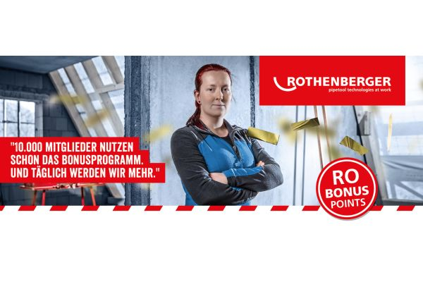 10.000 Fans im Rothenberger-Bonusprogramm