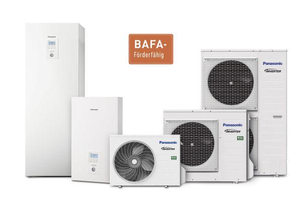 Panasonic Wärmepumpen: BAFA-Förderung für ein breites Leistungsspektrum