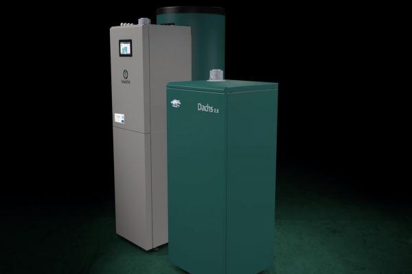 Die BDR Thermea Group setzt jetzt auch auf die erdgasbetriebene PEM-Brennstoffzelle von Panasonic mit 0,75 kW elektrischer und 1,1 kW thermischer Leistung. Senertec hat das Dachs 0.8 im vierten Quartal 2019 im Markt eingeführt.