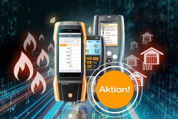 Testo Herbstaktion 2020 - Smarte Messgeräte für Heizungsanlagen und Wärmepumpen zum Aktionspreis!