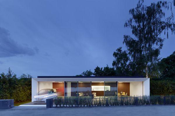 Das modulare Expertimentalgebäude