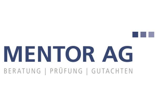 Das Bild zeigt das Mentor AG-Logo.