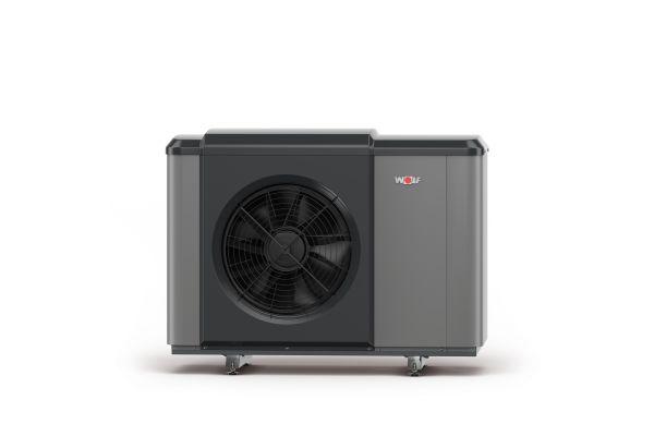 """Das Thema """"Sicherheit"""" wurde bei der R290-Wärmepumpe dadurch gelöst, dass der kältetechnische Teil der Luft/Wasser-Wärmepumpe """"CHA-Monoblock"""" komplett in der Außeneinheit untergebracht ist."""