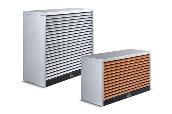 Eine Monoblock-Wärmepumpe LWM.