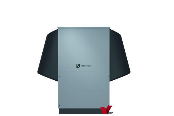 Eine Alira LWAV+-Wärmepumpe.