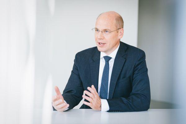 Dr. Timm Kehler, Vorstand der Brancheninitiative Zukunft Erdgas.