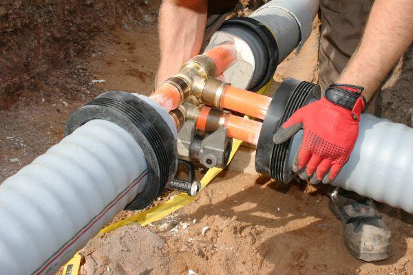 Sicherheit durch geprüfte Systemlösungen, bestehend aus optimal aufeinander abgestimmter Rohr- und Verbindungstechnik.