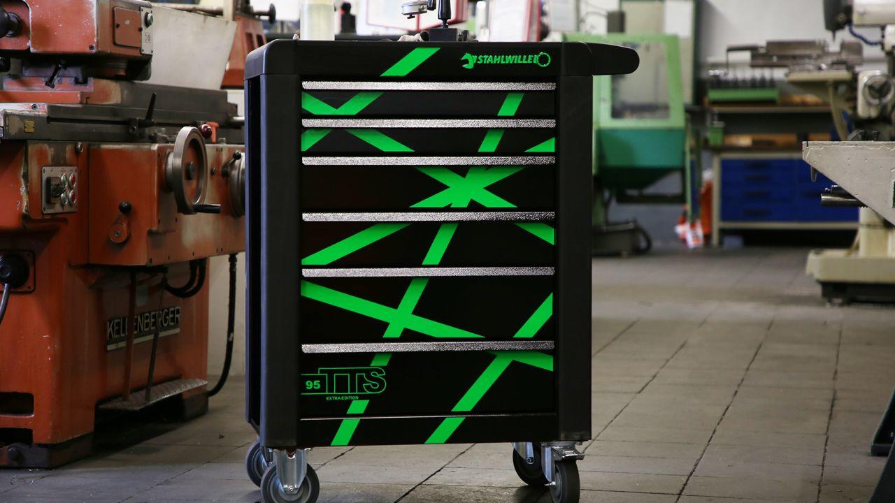 Design-Werkstattwagen von Stahlwille zieht Blicke auf sich