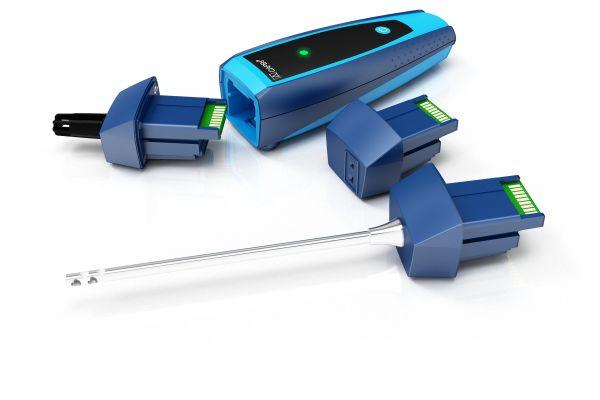 """Der universell einsetzbare Basisgriff """"CAPBs BG 10"""" und die austauschbaren Sensormodule bilden eine leistungsstarke Einheit."""