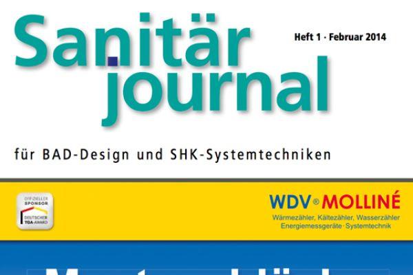 SanitärJournal – Heft 1, Februar 2014 SanitärJournal – Heft 1/2014