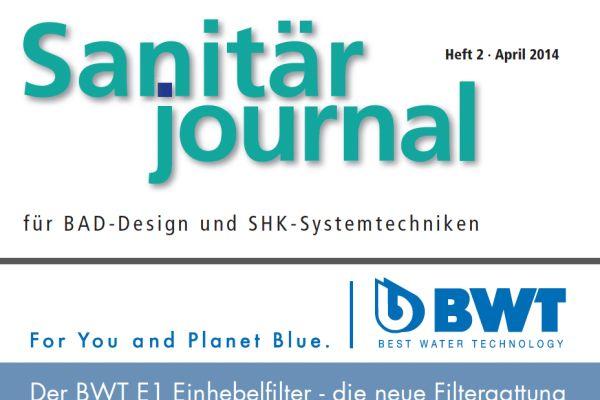 SanitärJournal – Heft 2, April 2014 SanitärJournal – Heft 2/2014