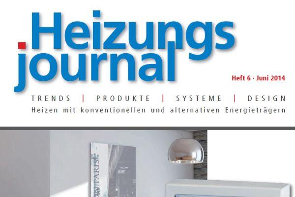 HeizungsJournal – Heft 6, Juni 2014 HeizungsJournal – Heft 6/2014