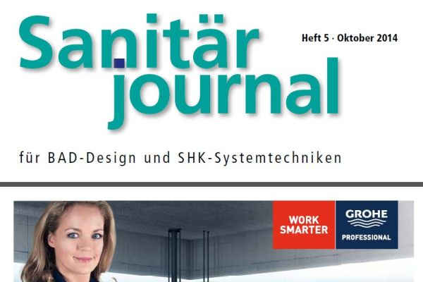 SanitärJournal – Heft 5, Oktober 2014 SanitärJournal – Heft 5/2014