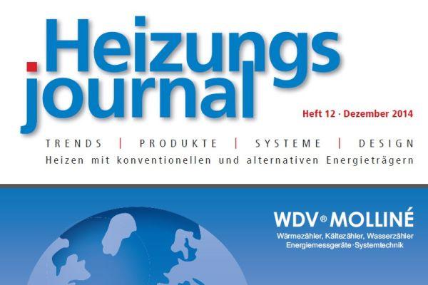 HeizungsJournal – Heft 12, Dezember 2014 HeizungsJournal – Heft 12/2014