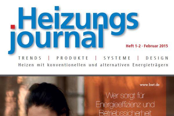 HeizungsJournal – Heft 1-2, Februar 2015 HeizungsJournal – Heft 1-2/2015