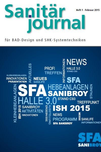 SanitärJournal – Heft 1, Februar 2015 SanitärJournal – Heft 1/2015