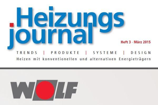 HeizungsJournal – Heft 3, März 2015 HeizungsJournal – Heft 3/2015