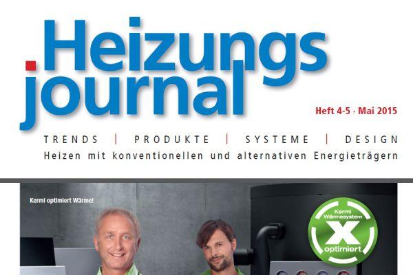 HeizungsJournal – Heft 4-5, Mai 2015 HeizungsJournal – Heft 4-5/2015