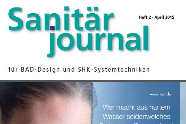 SanitärJournal – Heft 2, April 2015 SanitärJournal – Heft 2/2015