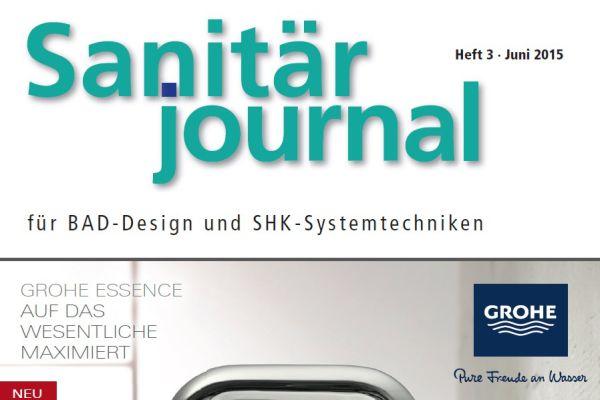 SanitärJournal – Heft 3, Juni 2015 SanitärJournal – Heft 3/2015