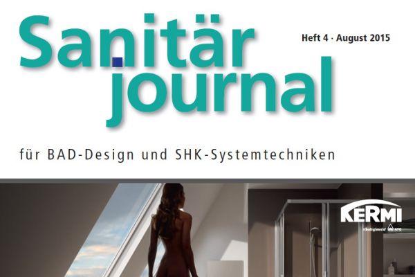 SanitärJournal – Heft 4, August 2015 SanitärJournal – Heft 4/2015