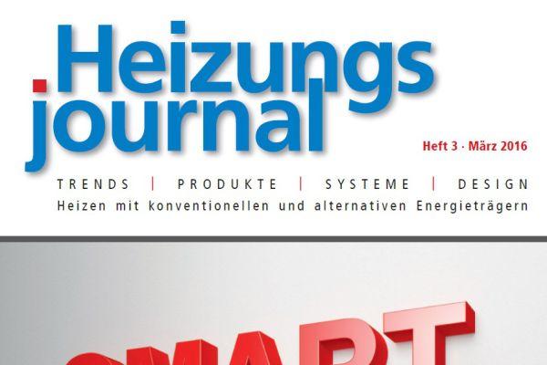 HeizungsJournal – Heft 3, März 2016 HeizungsJournal – Heft 3/2016