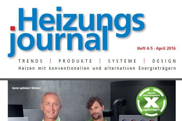 HeizungsJournal – Heft 4-5, April 2016 HeizungsJournal – Heft 4-5/2016