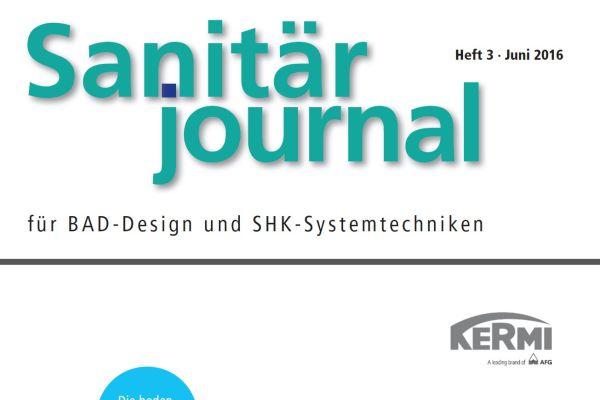 SanitärJournal – Heft 3, Juni 2016 SanitärJournal – Heft 3/2016