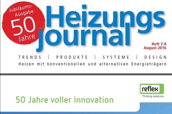 HeizungsJournal – Heft 7-8, August 2016 HeizungsJournal – Heft 7-8/2016