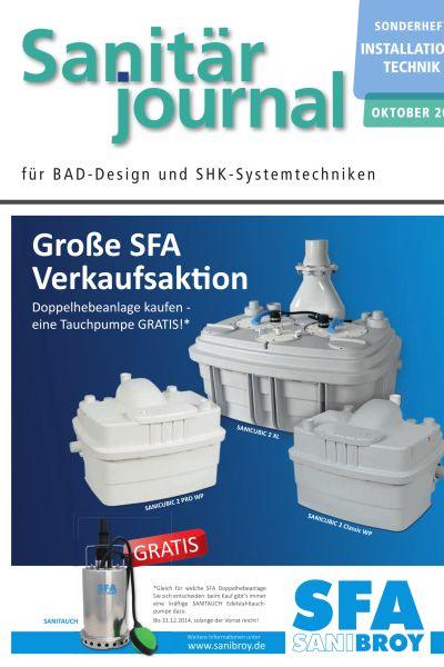 Sonderheft Installationstechnik Sanitär 2014 Sonderheft Sanitär 2014