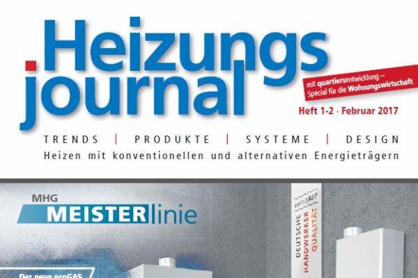 HeizungsJournal - Heft 1-2, Februar 2017 HeizungsJournal - Heft 1-2/2017